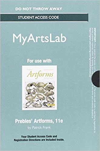 New mylab arts without pearson etext standalone access card for new mylab arts without pearson etext standalone access card for prebles artforms 11th edition 11th edition fandeluxe Gallery