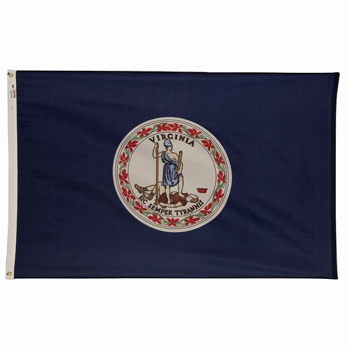 Cheap 4×6 Virginia State Flag American Made Superior Outdoor Nylon