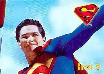 Dean Cain trading card Superman Lois Clark 1995 Skybox #53 by Autograph Warehouse