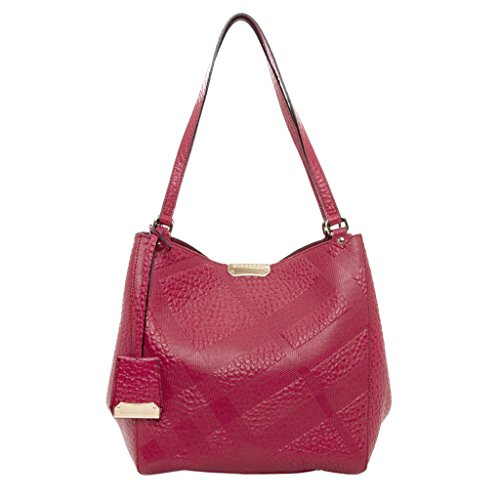 Burberry Women's Small Canter in Embossed Rose