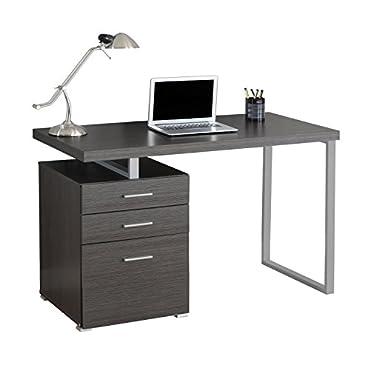 Monarch Contemporary Office Computer Desk, Gray (MS-VM7426)