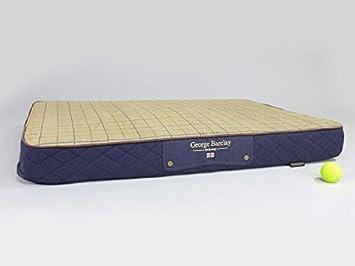 Colchón ortopédico de espuma viscoelástica George Barclay para perro (extra grande, azul medianoche): Amazon.es: Productos para mascotas