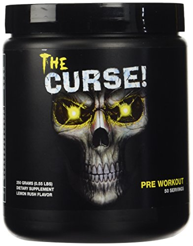 Cobra Labs The Curse Advanced Pre-Workout 50 Servings Lemon Rush 250g]()