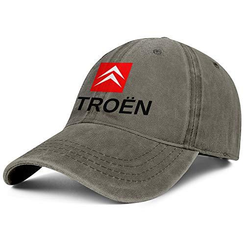 Mens Womens Baseball Cap Low Key Citroen-Car-Logo- Adult Adjustable Baseball Hat Sun Hat