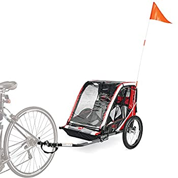 Image of Allen Sports Deluxe Steel Child Trailer Child Carrier Trailers