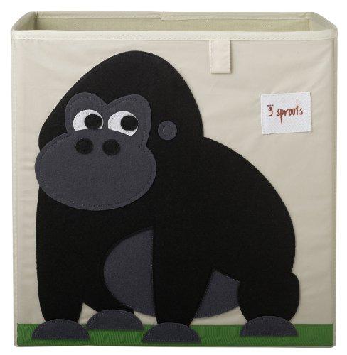 3 Sprouts Storage Box, Gorilla