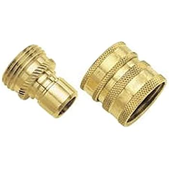 Dramm 22729 Heavy Duty Quick Disconnect Brass Garden Hose Parts Garden Outdoor