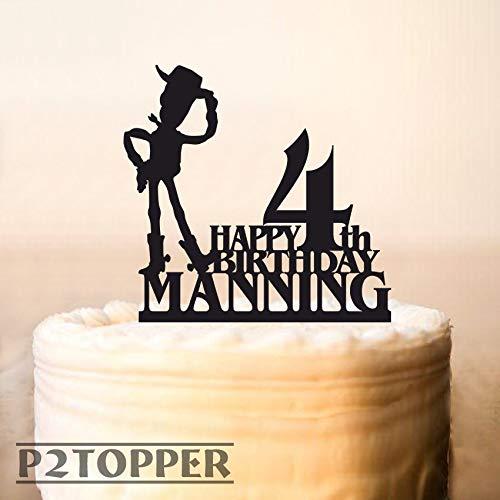 Decoración para tarta de cumpleaños, Toy Story Woody para ...