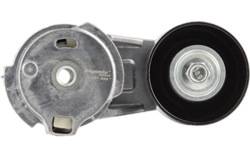 Bapmic 12573024 Drive Belt Tensioner with Pulley for Buick Chevrolet GMC Hummer Isuzu Saab