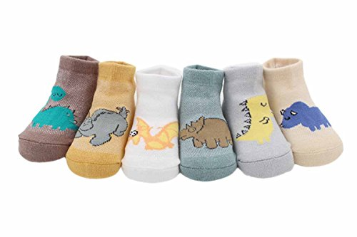 Amazon.com : Happy Cherry 6 Pairs Cartoon Cotton Socks for Baby Boys Infant Toddler-Random Color : Baby