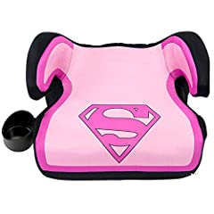 Your child will love hopping into the car knowing that Supergirl is along for the ride! The KidsEmbrace DC Comics Supergirl Backless Booster Car Seat has been rigorously tested and exceeds Federal Motor Vehicle Safety Standard (FMVSS 213), pl...