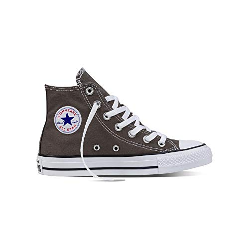 Converse Mens Chuck Taylor All Star High Top, 7.5 Men 9.5 Women, Charcoal