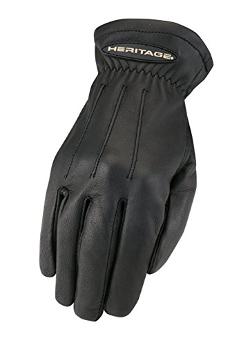 Heritage Trail Gloves, Size 7, Black - Heritage Competition Gloves