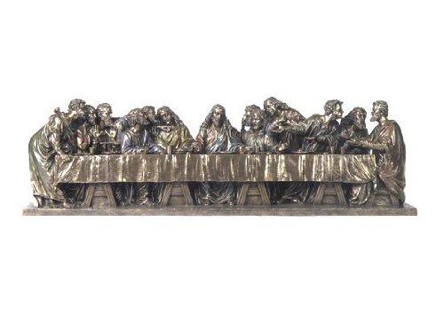 Unicorn Studios WU75825V4 Large The Last Supper by Leonardo Da Vinci Bronze Sculpture by Unicorn Studios