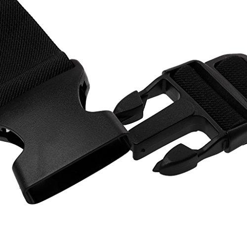 MagiDeal Deportes Correr Cintura Cinturón Bolsa Con Cremallera En Bicicleta Cubierta Caja Del Bolso Del Teléfono - Rosado Rosado
