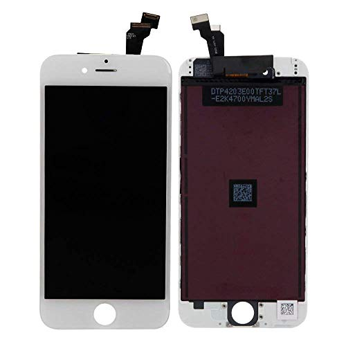 Replacement Touch Screen Full Set For iPhone 6 (4.7 Inch) LCD Touch Screen Digitizer Frame Assembly With Tools White