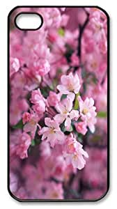 new case Pink Blossoms PC Black Case for iphone 4/4S
