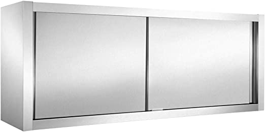 V2Aox Gastro - Armario de Pared con Puerta corredera (Acero ...