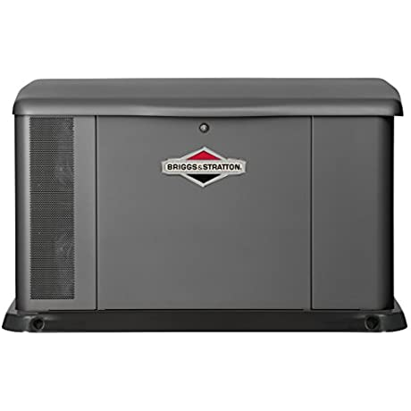 Briggs Stratton Power Products 40555 17kW Standby Generator With 200 Amp Transfer Switch