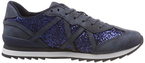 Lu Glitt Basses Esprit Sneakers Bleu 400 Astro navy Femme xEwBwq4p