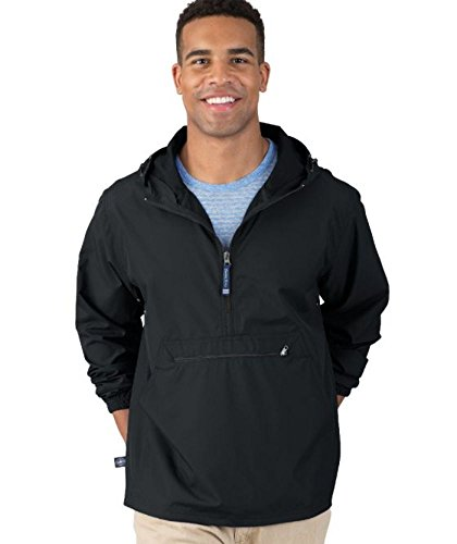 The quotNewport Collectionquot PackNGo Pullover Jacket from Charles River Apparel black large
