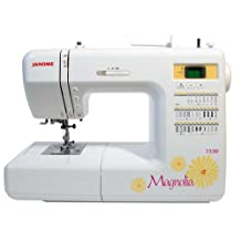 Janome Magnolia 7330 includes Red Tote, 1/4 Foot and 10 Bobbns