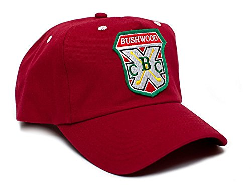 Bushwood Hat Country Club Caddyshack Movie One Size Baseball Cap Red