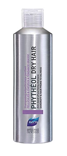 PHYTHÉOL DRY HAIR Botanical Exfoliating Shampoo For Dry Scalp | Paraben Free | Severe Dandruff | Moisturizes, Balances, Purifies, Soothes & Exfoliates Scalp | Reliefs Irritation, Prevents Flakes