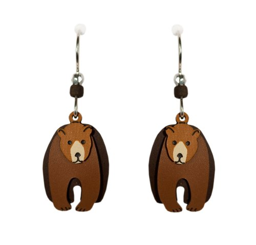 bear earrings - 7
