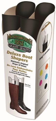 Moneysworth & Beste Deluxe Boot Shaper Svart