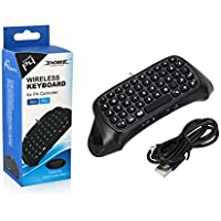 Wireless Bluetooth Game Controller Keyboard Keypad Chatpad for PlayStation 4 PS4