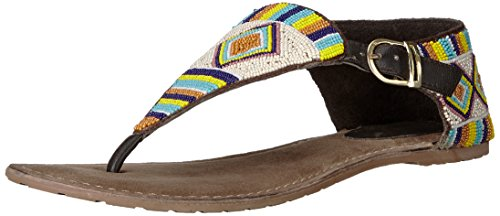 Coconuts by Matisse Women's Gulf Thong Sandal, Chocolate, 6 UK/6 M US