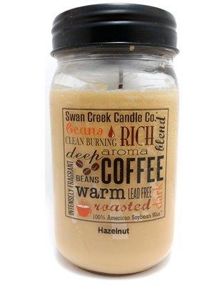 Swan Creek Candle Hazelnut 24 Oz Candle