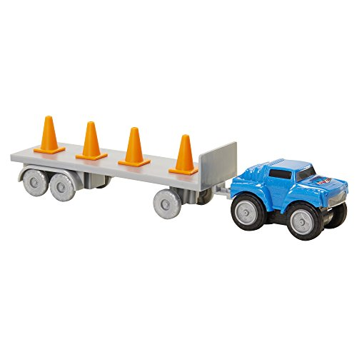Max Tow Truck 87231 Mini Haulers Blue Jeep with Cones for sale  Delivered anywhere in USA