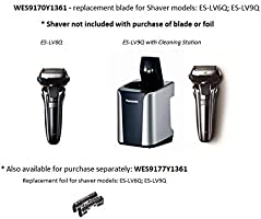 Panasonic WES9170Y1361 - Hoja exterior para afeitadoras: Amazon.es ...