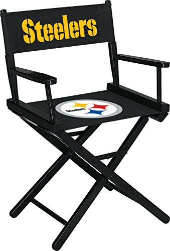 Imperial Officially Licensed NFL Merchandise: Directors Chair (Short, Table Height), Pittsburgh Steelers