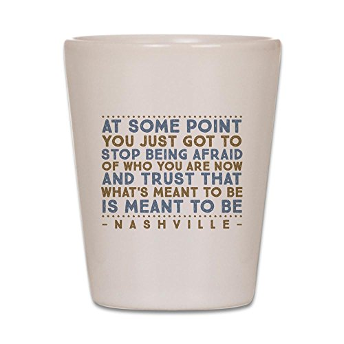 CafePress - Meant To Be Nashville Shot Glass - Shot Glass, Unique and Funny Shot Glass