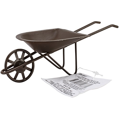 Darice 6552 77 darice 6 by 2 tin wheelbarrow price for Mini tin mailboxes for crafts