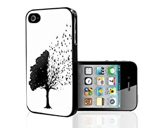 Free Yourself- Birds Flying From Tree Hard Snap on Phone Case (iPhone 5/5s)