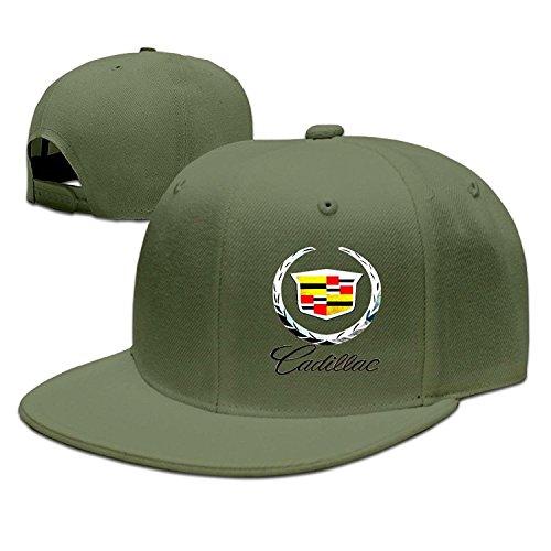 ZXHCKH Cadillac Logo Flat Baseball Cap ()