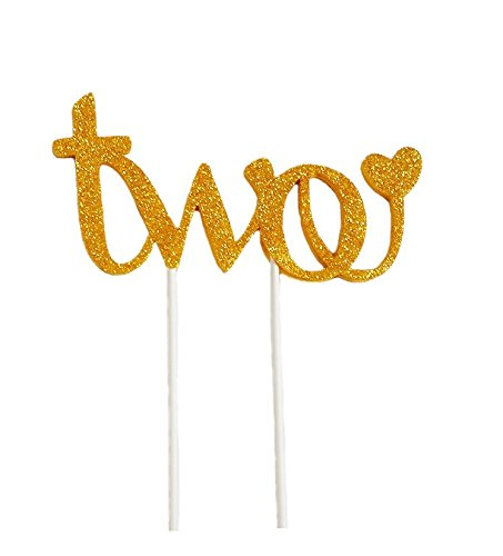 Second Birthday New Design Handmade Cake Topper -