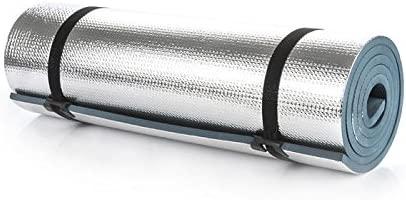 Colchoneta de Yoga, Aluminio, Espuma EVA 180 x 50 x 1 cm ...