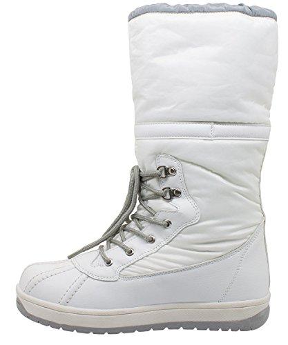 Kefas - Jade 3326 - Botas de nieve Mujer Blanco