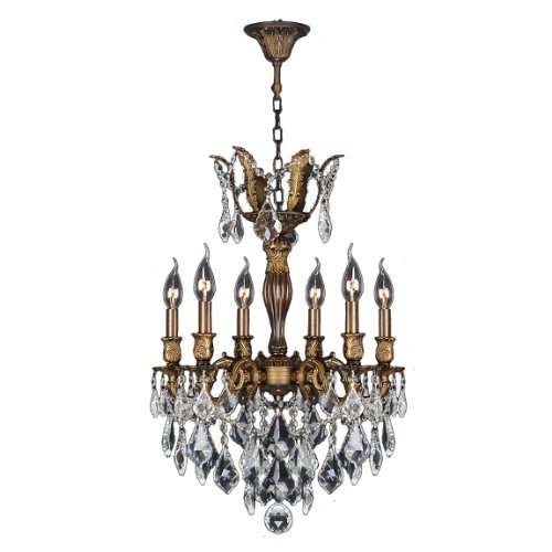Worldwide Lighting Versailles Collection 6 Light Antique ...