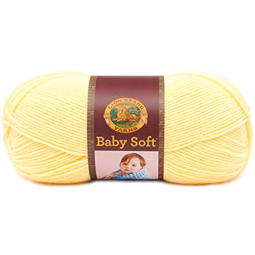 Lion Brand Yarn 920-160 Babysoft Yarn, Lemonade