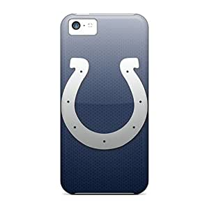 LauraAdamicska Iphone 5c Protective Cell-phone Hard Cover Allow Personal Design HD Indianapolis Colts Pictures [vKI18525GHOw]