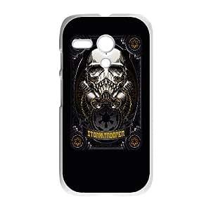 PrettyBaby Personal Phone Case Skull For Motorola G LJS0938
