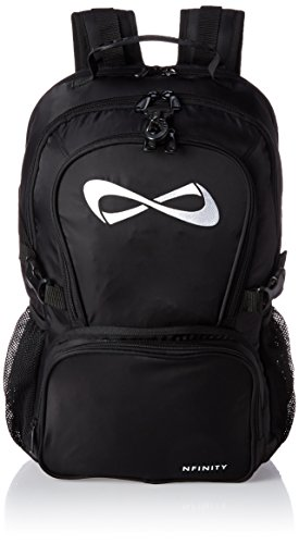 Nfinity Backpack, One Size, Black by Nfinity