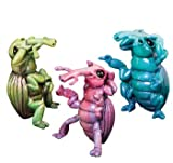 Kitty's Critters 3-Inch Weevils Figurines, Set of 3