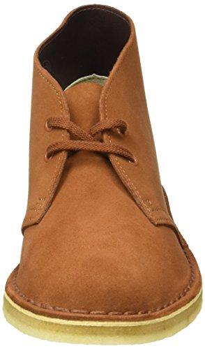 Clarks Originals Boot, Botas Desert para Mujer Marrón (Dark Tan)
